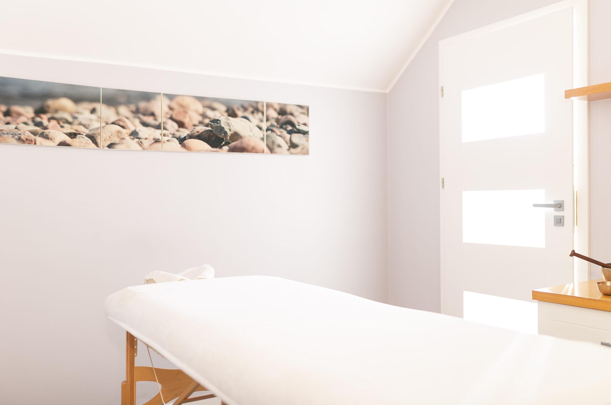 Gabinet masażu w Spa Osowa