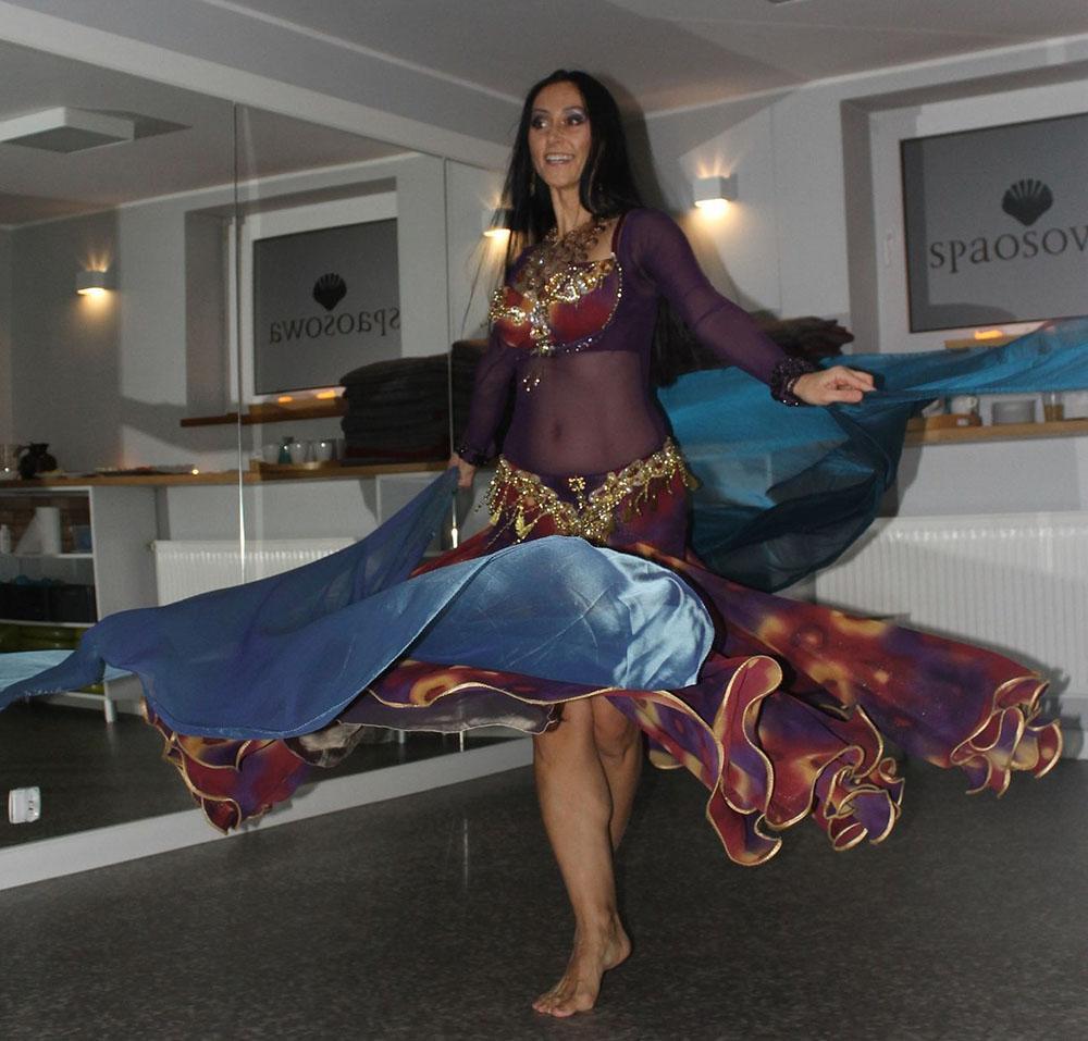Taniec orientalny